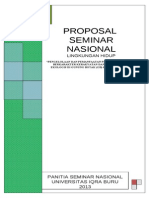 Proposal Seminar Lingkungan Hidup Pengelolaan Pertambangan