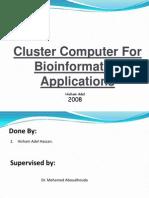 Computer Cluster Final