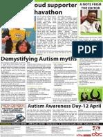 Avril Elizabeth's Autism article