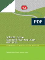 NRHM Eleventh Five Year Plan