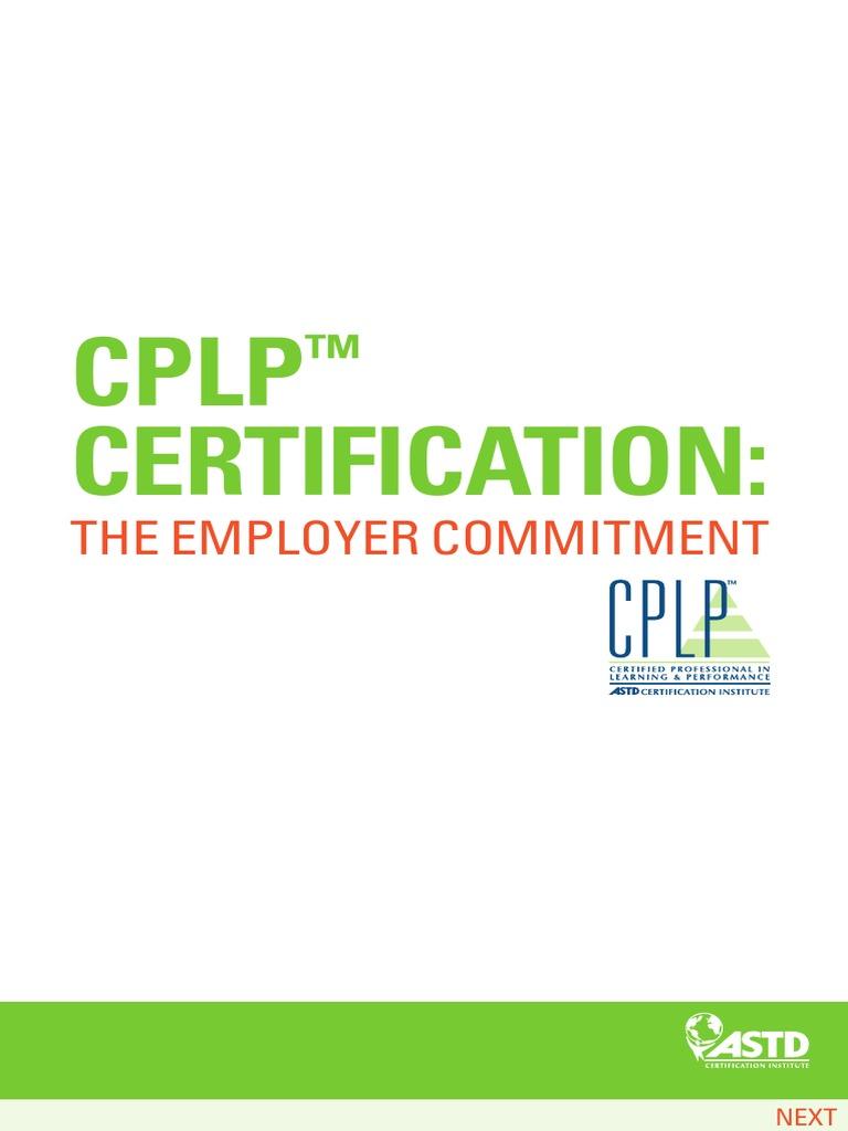 Cplp Certifiation Expert Credential