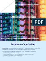 6 Marketing and the Competitive Environment
