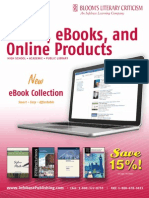Blooms' Literary Criticism Catalog