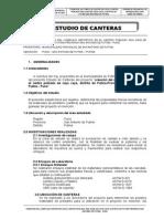Estudio de Canteras Complejo Deportivo Caya Caya