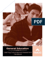 Learning Outcome and Assessment Handbook