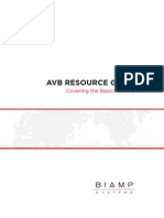 Biamp AVB Reference Guide
