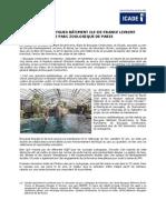201404 - CP - Livraison Parc Zoologique Paris