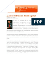 Personal Brand Equity