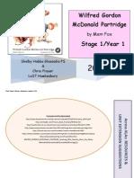 Wilfred Gordon McDonald Partridge S1 Year 1