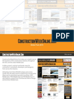 ConstructionWeekOnlineCom Media Pack
