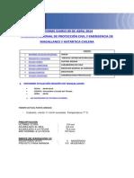 Informe Diario Onemi Magallanes 09.04.2014