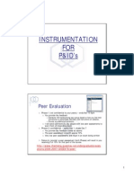 Instrumentation for P&IDs