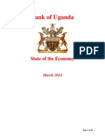 BOU State of the Economy March 2014