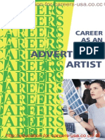 Career as an Advertising Artist Graphic Designer Creative d