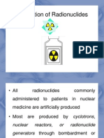 Topic 2-Production of Radionuclides & QA QC