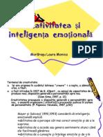 Creativitatea Si Inteligenta Emotionala