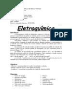 Relatório - Eletroquimica