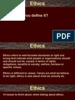 Ethics Slides