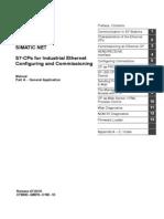 S7-CPs Industrila Enternet Configurations