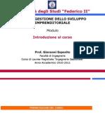 GSI Introduzione Al Corso
