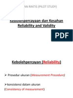 3 Reliability and Validity