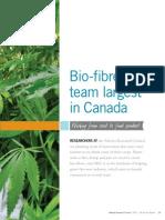 Bio-Fibres Team Largest