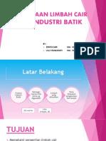 Presentasi Limbah Batik