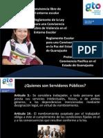 LEY PARA UNA COVIVENCIA LIBRE DE VIOLENCIA EN ENTORNO ESCOLAR  (actualizado) - copia.pptx