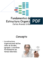 fundamentosdelaestructuraorganizacional-101126095614-phpapp01.ppt