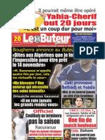 LE BUTEUR PDF du 28/10/2009