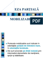 Curs 1 - Proteza Partiala Mobilizabila