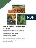 co-equal lesson plan- oregon trail | Lesson Plan | Geography