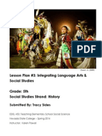 EDEL453 History Lesson Plan Tracy Sides