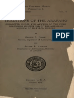 Dorsey George Traditions of the Arapaho