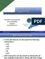 Lec 4 AVR+Assembly+Language+Programming