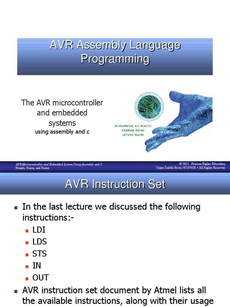 Instruction Set And Assembly Language Programming