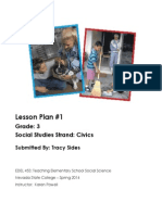 EDEL453 Civics Lesson Plan Tracy Sides