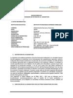 Syllabus Auditoria Banca y Finanzas