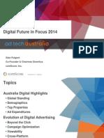 Australia Digital Future in Focus 2014
