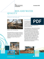 Bushfires and Water Quality Fs