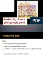 Curs dermatologie. Anatomia  şi histologia pielii