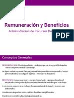 Remuneraciones y Beneficios Clase 5