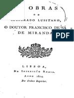 As obras do celebrado lusitano