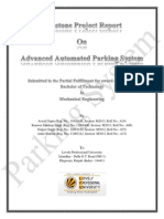 automated parking system  Project Report