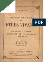 E.aubert - Histoire Naturelle Des Etres Vivants T1- F1