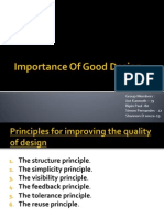Importance of Good Design