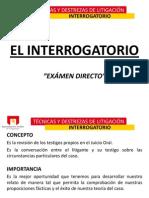 3.- INTERROGATORIO