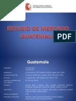 Estudio de Mercado -Guatemala