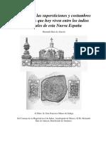 Ruiz de Alarcon, Hernando - Tratado de Las Supersticiones y Costumbres