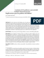 La Dimension Economica de La Pobreza, Desarrollo Sostenible